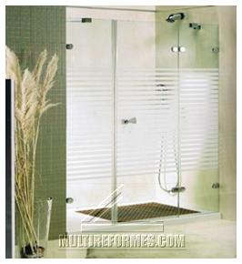 Cerramientos en aluminio y pvc puertas y ventanas for Baranda para ducha
